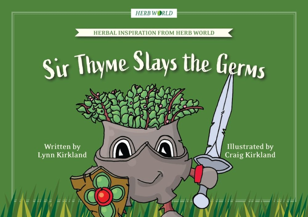 Herb World Book - Sir Thyme Slays the Germs